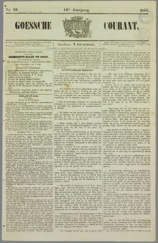 Goessche Courant 1857-09-07