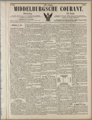 Middelburgsche Courant 1903-06-13