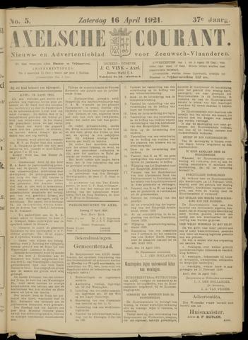 Axelsche Courant 1921-04-16