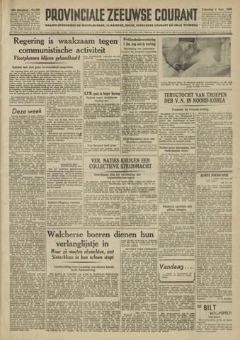 Provinciale Zeeuwse Courant 1950-11-04