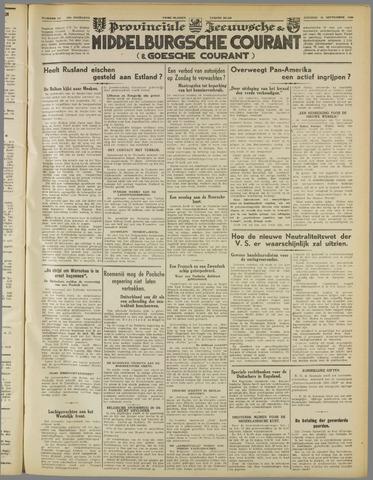 Middelburgsche Courant 1939-09-26