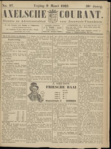 Axelsche Courant 1923-03-09