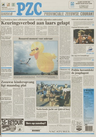 Provinciale Zeeuwse Courant 1998-06-27