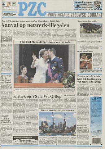 Provinciale Zeeuwse Courant 1999-12-06