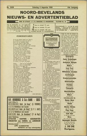 Noord-Bevelands Nieuws- en advertentieblad 1938-08-06