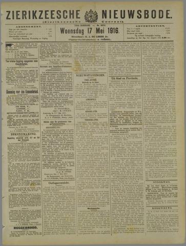 Zierikzeesche Nieuwsbode 1916-05-17