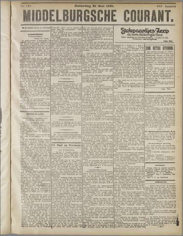 Middelburgsche Courant 1921-05-21