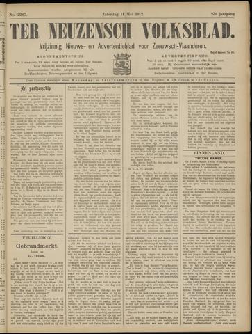 Ter Neuzensch Volksblad. Vrijzinnig nieuws- en advertentieblad voor Zeeuwsch- Vlaanderen / Zeeuwsch Nieuwsblad. Nieuws- en advertentieblad voor Zeeland 1912-05-11