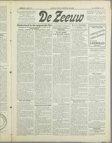 De Zeeuw. Christelijk-historisch nieuwsblad voor Zeeland 1937-06-02