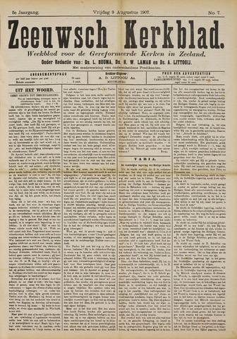 Zeeuwsche kerkbode, weekblad gewijd aan de belangen der gereformeerde kerken/ Zeeuwsch kerkblad 1907-08-09
