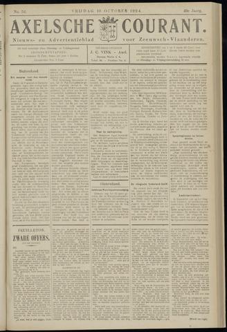 Axelsche Courant 1924-10-10