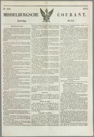 Middelburgsche Courant 1871-07-22