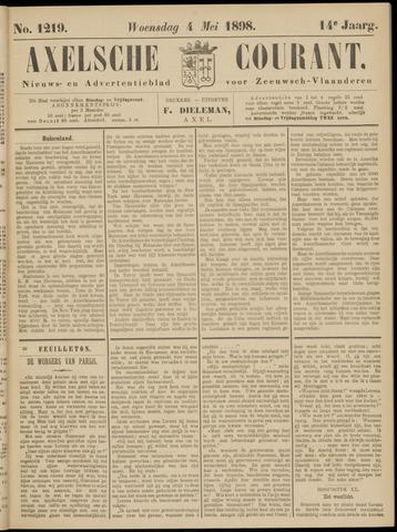 Axelsche Courant 1898-05-04