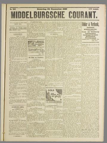 Middelburgsche Courant 1927-12-24