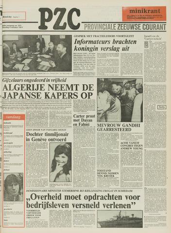 Provinciale Zeeuwse Courant 1977-10-04