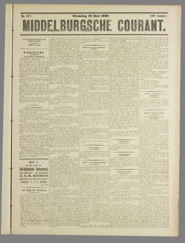 Middelburgsche Courant 1925-05-19