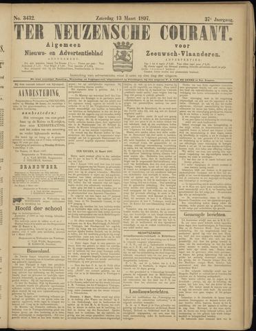 Ter Neuzensche Courant. Algemeen Nieuws- en Advertentieblad voor Zeeuwsch-Vlaanderen / Neuzensche Courant ... (idem) / (Algemeen) nieuws en advertentieblad voor Zeeuwsch-Vlaanderen 1897-03-13
