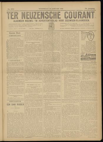 Ter Neuzensche Courant. Algemeen Nieuws- en Advertentieblad voor Zeeuwsch-Vlaanderen / Neuzensche Courant ... (idem) / (Algemeen) nieuws en advertentieblad voor Zeeuwsch-Vlaanderen 1932-01-20