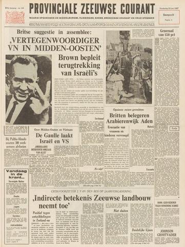 Provinciale Zeeuwse Courant 1967-06-22