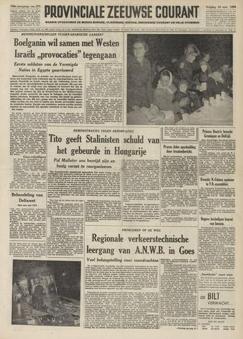 Provinciale Zeeuwse Courant 1956-11-16