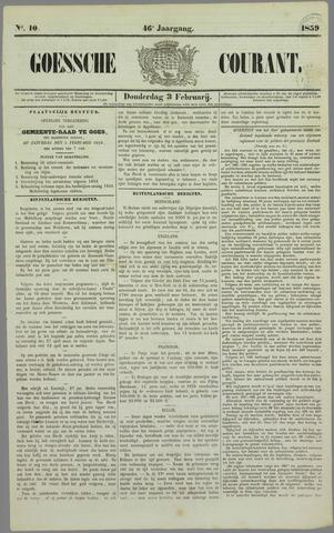 Goessche Courant 1859-02-03