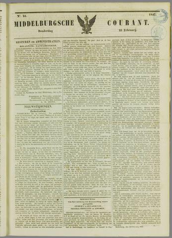 Middelburgsche Courant 1847-02-25