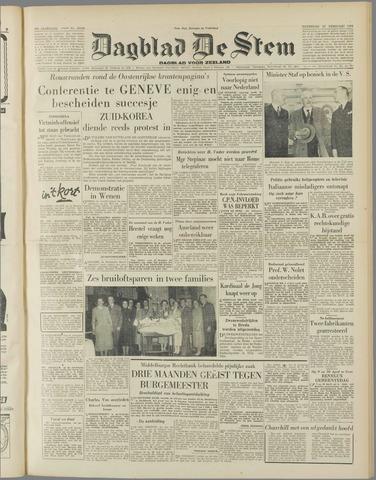 de Stem 1954-02-20