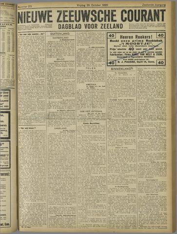 Nieuwe Zeeuwsche Courant 1920-10-29