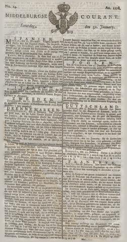 Middelburgsche Courant 1778-01-31