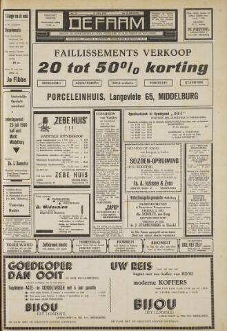 de Faam en de Faam/de Vlissinger 1960-07-22