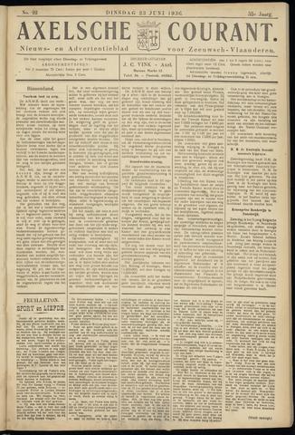 Axelsche Courant 1936-06-23