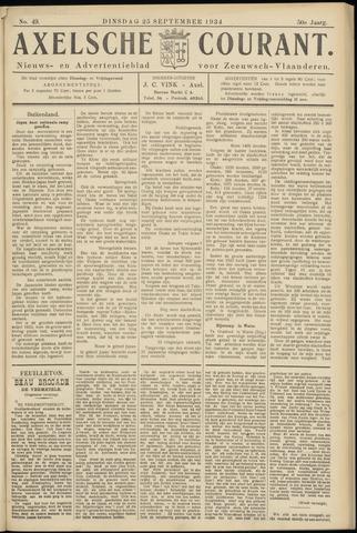Axelsche Courant 1934-09-25