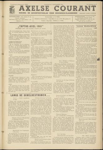 Axelsche Courant 1961-09-09