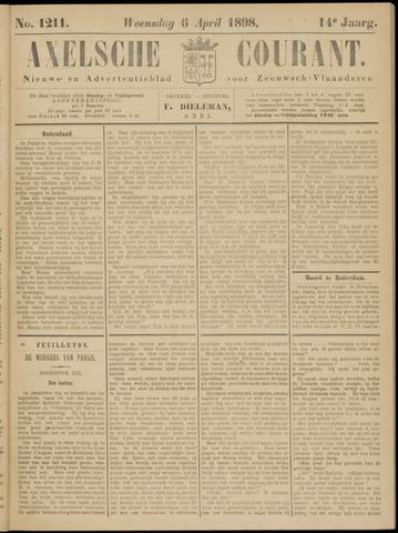 Axelsche Courant 1898-04-06