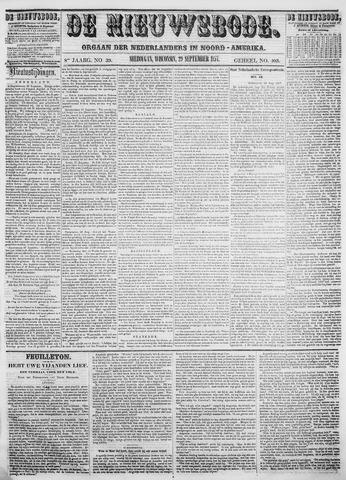 Sheboygan Nieuwsbode 1857-09-29