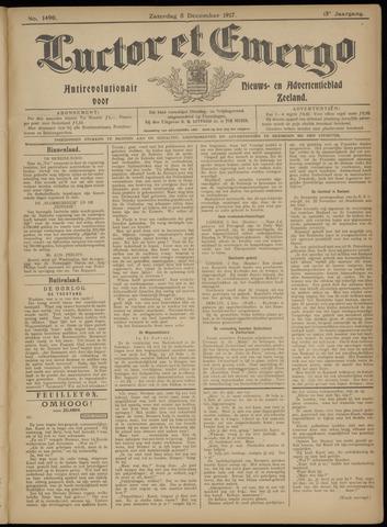 Luctor et Emergo. Antirevolutionair nieuws- en advertentieblad voor Zeeland / Zeeuwsch-Vlaanderen. Orgaan ter verspreiding van de christelijke beginselen in Zeeuwsch-Vlaanderen 1917-12-08