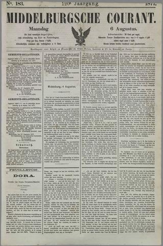 Middelburgsche Courant 1877-08-06