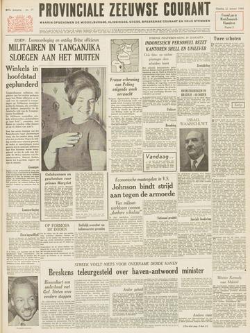 Provinciale Zeeuwse Courant 1964-01-21