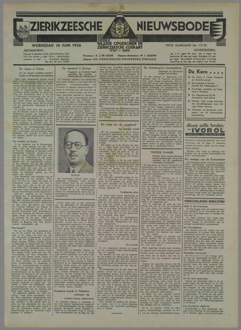 Zierikzeesche Nieuwsbode 1936-06-10