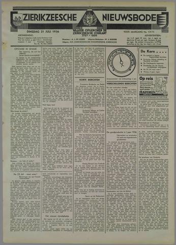 Zierikzeesche Nieuwsbode 1936-07-21