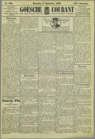 Goessche Courant 1927-09-05