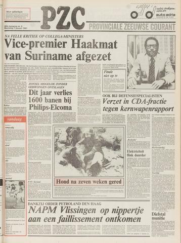 Provinciale Zeeuwse Courant 1981-01-07