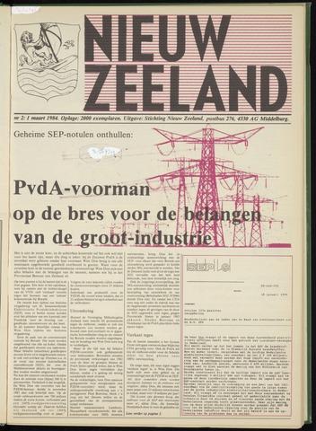 Nieuw Zeeland 1984-03-01
