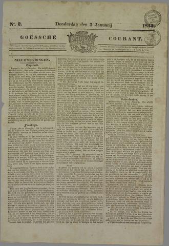 Goessche Courant 1843-01-05