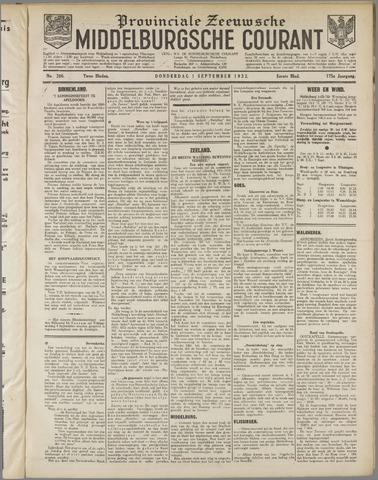 Middelburgsche Courant 1932-09-01