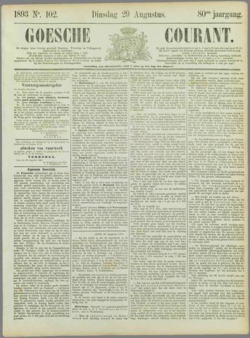 Goessche Courant 1893-08-29