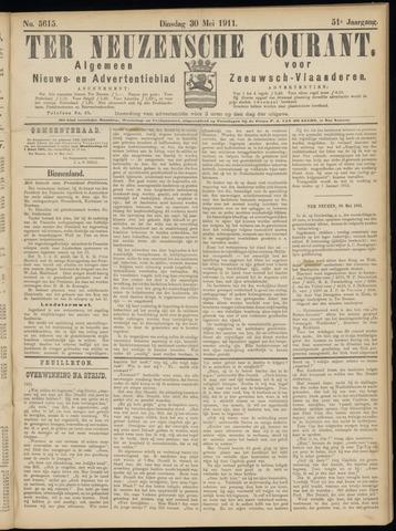 Ter Neuzensche Courant. Algemeen Nieuws- en Advertentieblad voor Zeeuwsch-Vlaanderen / Neuzensche Courant ... (idem) / (Algemeen) nieuws en advertentieblad voor Zeeuwsch-Vlaanderen 1911-05-30
