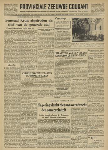 Provinciale Zeeuwse Courant 1951-01-24