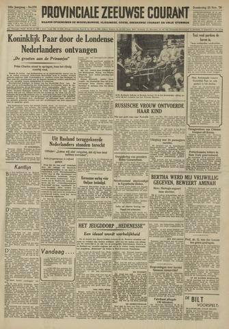 Provinciale Zeeuwse Courant 1950-11-23