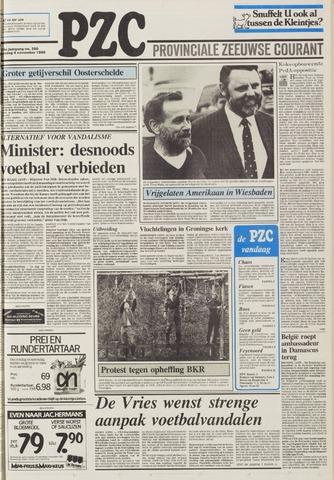 Provinciale Zeeuwse Courant 1986-11-04